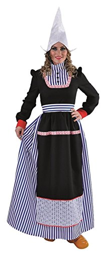 narrenkiste M215173-S Damen Hollandkleid lang Holländerin Gr.S