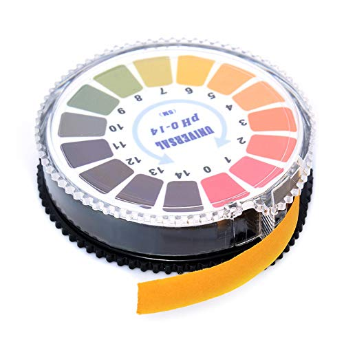 PH teststrips, Universal Strips pH 0-14, de zuurgraad en alkaliteit, urine, speeksel, Pool, Aquarium en Meer, 2 stuks