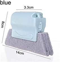 Useful Microfiber Window Cleaning Brush Air Conditioner Duster Cleaner with Washable Venetian Blind Blade Cleaning Cloth (...