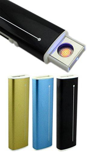 GYD GYD Strom USB Feuerzeug Elektro Feuerzeug PC Slim Line