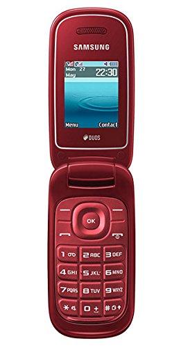 'Samsung E1272Handy (4,5cm (1.77), 160x 128Pixel, TFT, Dual SIM, 2g, 900, 1800MHz) rot