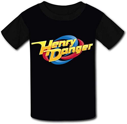 ANTOUZHE niño Camisetas Hen-ry Dan-Ger Boys Girls T Shirt Graphic Short Sleeve...