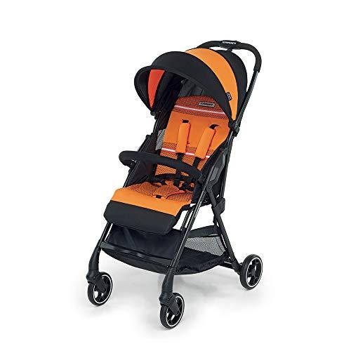 Foppapedretti Leichter Top4 Kinderwagen, leicht und kompakt, Orange (Mango)