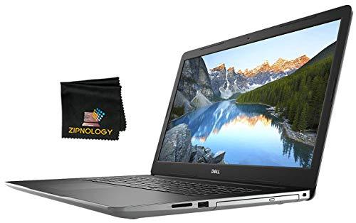 Dell Inspiron 17 384 – 17 Zoll FHD Laptop – Intel Core i7-1065G7 – 128 GB SSD + 1 TB HDD – 8 GB DDR4 – GeForce MX230 mit 2 GB GDDR5 – Windows 10 Home + Zipnology Bildschirm-Reinigungstuch