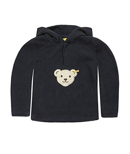 Steiff Unisex - Baby Sweatshirt 0006863 Blau (Marine ) 98 (Herstellergröße: 98)