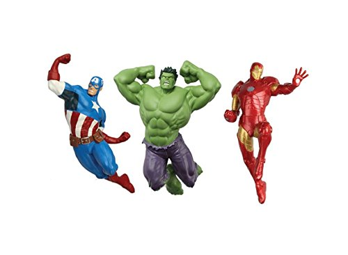 SwimWays Marvel Avengers Dive Characters Kids Pool Toy - Captain America, Hulk,...