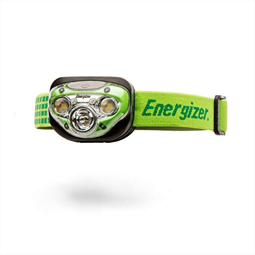 Energizer Lampe Frontale LED, Vision HD+, Piles Incluses