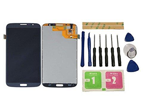 Flügel per Samsung Galaxy Mega 6.3 i527 i9200 i9205 Schermo Display LCD Display Nero Touch Screen Digitizer ( Senza Frame ) di ricambio e Strumenti Gratuiti