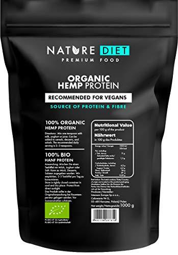Nature Diet Bio, proteine della canapa, 1 kg