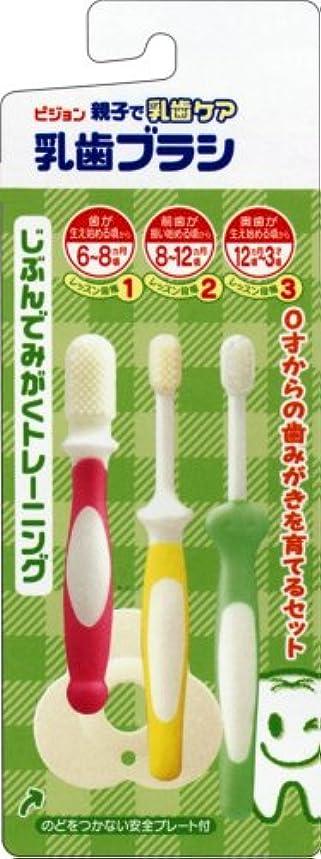 刺激する不誠実到着する乳歯ブラシセット