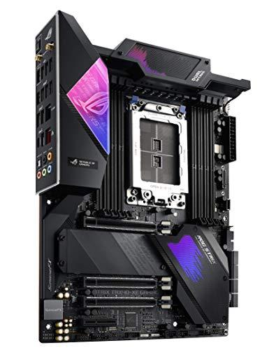 Asus ROG Strix TRX40-XE Gaming Scheda Madre ATX sTRX4 3rd Generation, Ryzen Threadripper 64 Core, 16 Stadi di Potenza, Wi-Fi 6 (802.11ax), 2.5Gb LAN, USB 3.2Gen 2, SATA, Tre M.2, OLED