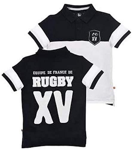 Polo Rugby Manches Courtes Bleu Marine - FFR (8 ans - SBoy)