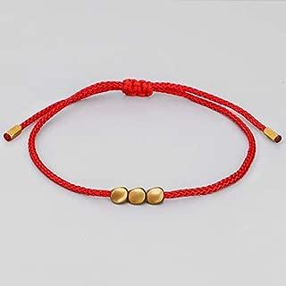 Original Handmade Bracelet Handmade Tibetan 5 Charms Bead Lucky Rope Bracelet Bangles For Women Men Wax Thread Bracelets