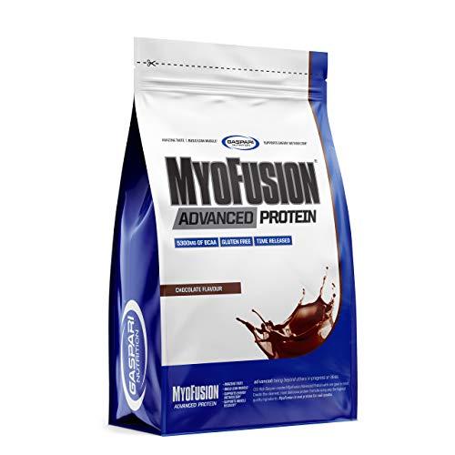 Gaspari Nutrition Myofusion Advanced EU Confezione da 1 x 500g - Concentrato e Isolato di Proteine del Siero di Latte - Caseina Micellare -Integratore in Polvere (Chocolate)
