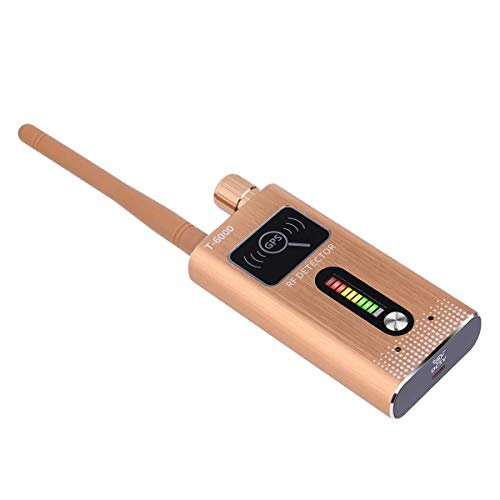 YXYOL Bug GPS-Kamera-Signal-Detektor, Wireless RF-Signal-Detektor, Wireless-Signal Alarm GSM Abhörgerät Finder, Anti-Sneak, Anti-Lausch