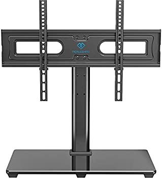 Perlesmith Universal TV Stand Table Top TV Base for 37 to 70 inch
