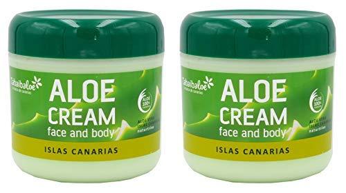 crema aloe vera Crema viso e corpo Aloe Vera, 2 unità