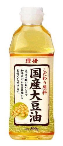 理研 国産大豆油 500g