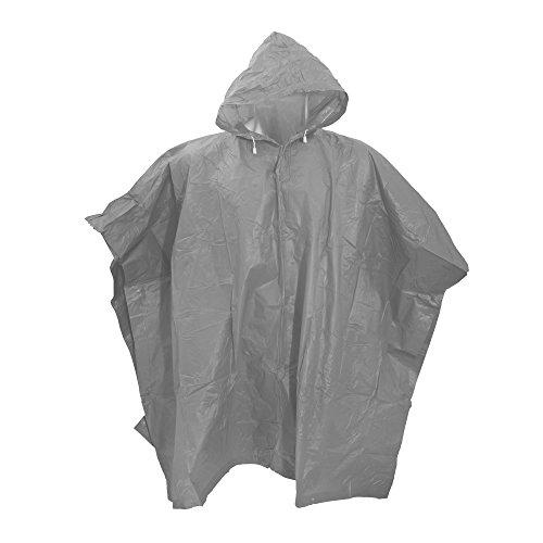 Splashmacs Unisex Regenponcho / Regenschutz, besonders leicht One Size,Silber