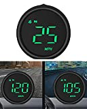 ACECAR Universal Car HUD Head Up Display Digital GPS Speedometer with Speed MPH, Navigation Compass, Driving Distance, for All Vehicle