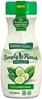 Best hidden valley simply ranch cucumber basil Reviews