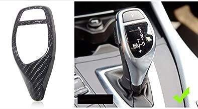Eppar New Carbon Fiber Shift Knob Cover for BMW i8 2014-2017 (Shift Knob B-Style 1PC)