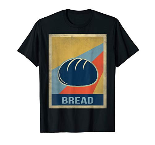 Vintage style bread shirt