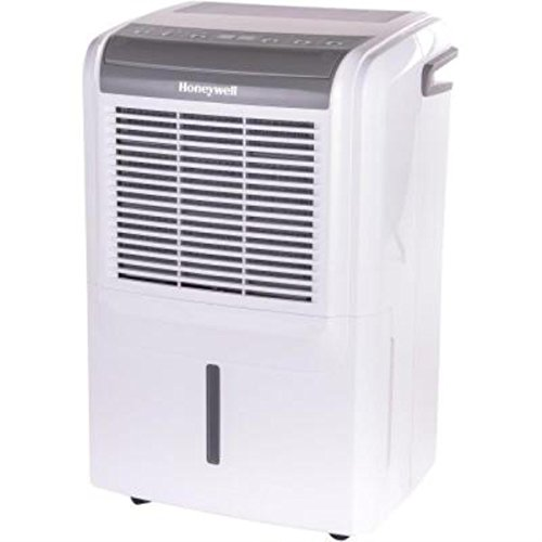 Honeywell DH70W 70 pint Energy Star Dehumidifier for Basement & Rooms up To 4000 Sq ft with Washable Air Filter to Remove Odor, Anti-Spill Design & Continuous Drain