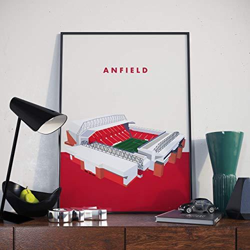 Anfield, Liverpool Stadium Poster