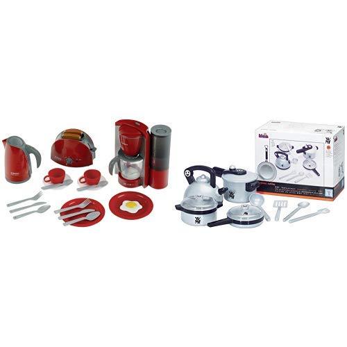 Theo Klein 9564 - Bosch Küchenset groß, Spielzeug & Klein 9430 - WMF Topf-Set für die Kinderküche, Spielzeug