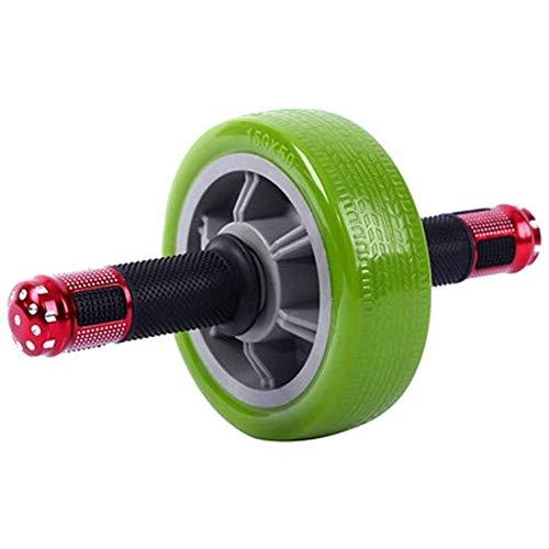 LMDH Músculo Abdominal Wheel-Roller, Hogar Ejercicio Abdominal Equipo de Entrenamiento Core máquina más Ancha de la Rueda Rodillo de AB