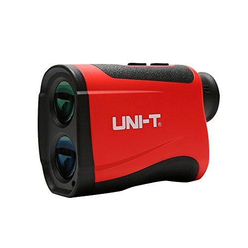 Entfernungsmesser, Teleskop Golf Rangefinder, 7-facher Vergrößerung Abstandmessung 4~600m/±1m, Geschwindigkeitsmessung 0-300km / h, für Golf, Jagd(LM600)