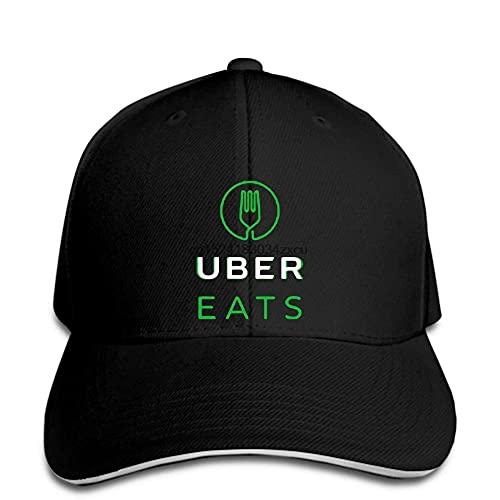 BOIPEEI Escalada Al Aire Libre Gorra De Béisbol, Eats Online Driver Uber Logo Hombres Snapback Hat Pico