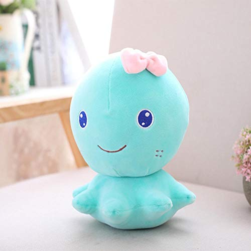 Weilaijaiju Muñeca de pulpo de algodón suave de 20 cm, 30 cm, 35 cm, diseño de animales de pulpo, juguete de lujo con dibujos animados de dibujos animados Lula Toy para niños de 35 cm (tamaño 35 cm)