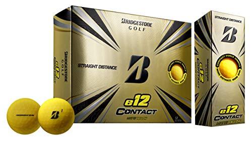Bridgestone Golf 2021 e12 Contact Matte Yellow