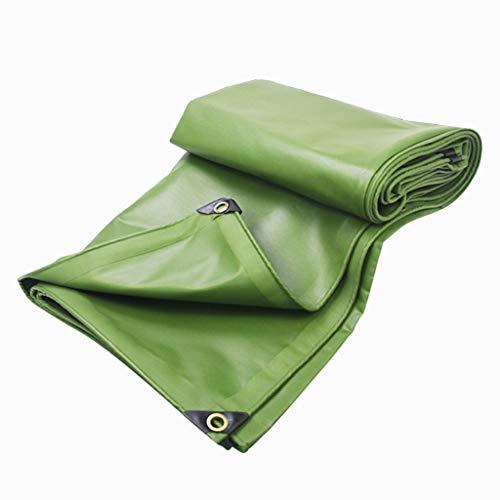 Bâche Protection Solaire Imperméable Imperméable Épaississement Épaissir Auvent en PVC 600g / M2 (Taille : 6x6m)