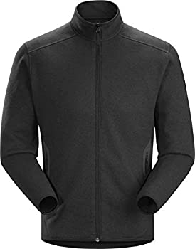 Arc teryx Covert Cardigan Men s | Casual Fleece Cardigan with The Look of Wool | Black Heather Medium