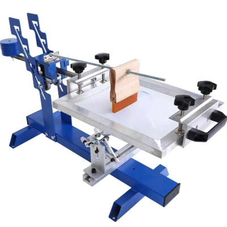 種類ピッチャー肉手動丸スクリーン印刷機スクリーン印刷機丸管湾曲高品質