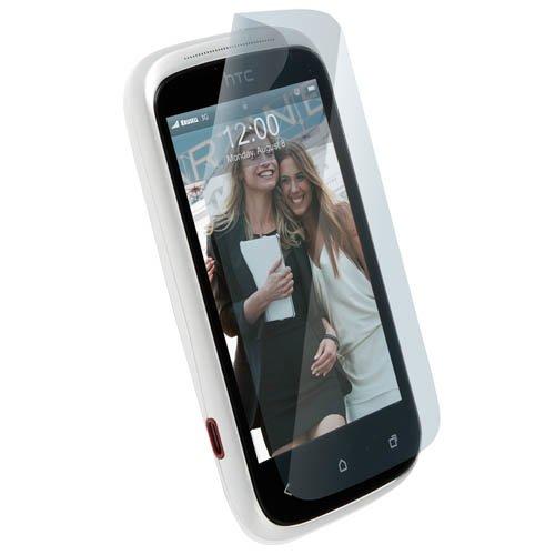 Krusell Mobile Screen Protector (Folie) für HTC - Passend für Desire C