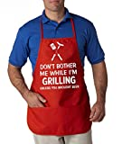 S-Womenbeauty Cooking-Apron-Grill-BBQ-Funny-Cook-Kitchen-Apron-Cookout-Grillman-Apron-one-Size