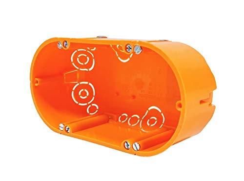 Schalterdose Gerätedose Hohlwanddose IP30 Unterputz 136x68x47mm
