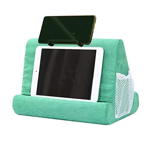 LAANCOO Soft Cell Phone Kissen Pad Multi Buch Tablet Ständer Für Home Office Täglichen Gebrauch (schwarz)