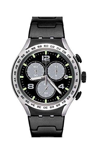 Swatch Reloj Analogico para Hombre de Cuarzo con Correa en Aluminio YYS4026AG