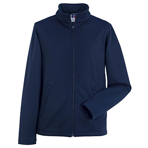 Russell Collection Herren Softshell-Jacke Gr. M, french navy