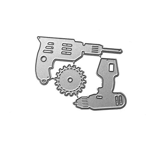Mmnas Troqueles para máquina de troquelado, para scrapbooking, papel fotográfico, tarjetas, manualidades, repujado, combinación de perforación eléctrica.
