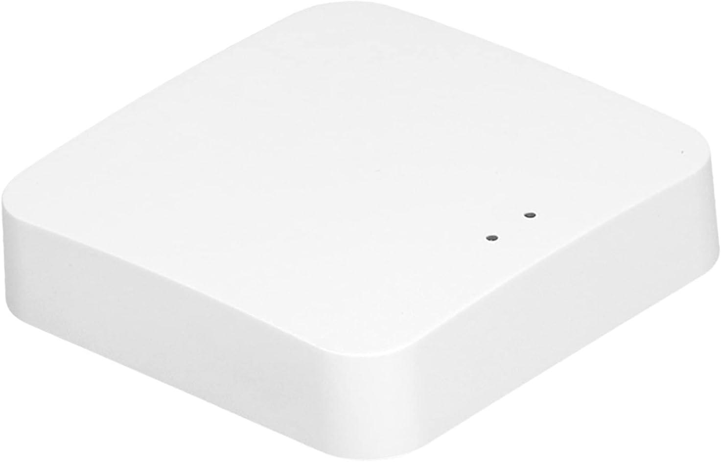 ZigBee Hub, Smart Hub ZigBee 2.0 Gateway Intelligent Wireless Gateway Hub WiFi 802.11 B/g/n AI Voice Control for ZigBee 2.0 for TUYA 5V