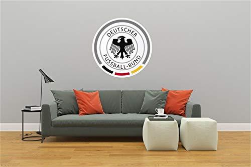 wandtattoo tribal 3d Deutsche Fußballnationalmannschaft Die Mannschaft Logo Für Heimtextilien Für Schlafzimmer Für Wohnzimmer Für Jungenzimmer
