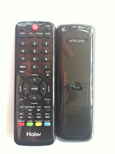 NEW Haier HAIER Brand TV REMOTE HTR-D09 HD09 HD06 REMOTE FOR HAIER LE29F2320 LE32F2220 L32D1120 L42C1180A HL32P2A LE29F2320 LE32F2220 LE24C1380 HL22XLT2A L32C1120 HL42XP22A HL32P2A L42C1180A L32D1120 LE24C1380 HL22XLT2A L32C1120 HL42XP22A HL32P2A L42C1180A L32D1120 TV---Sold by Parts-outlet store