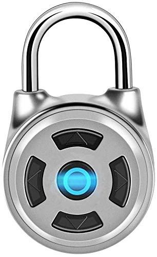 Bluetooth Vorhängeschloss,Tangxi Intelligentes Vorhängeschloss,Schlüsselloses Vorhängeschloss,Chip Lock Core,Bluetooth Sperre,App Steuerung für Haustür,Rucksack,Fitnessraum,für Android/iOS Smart Lock
