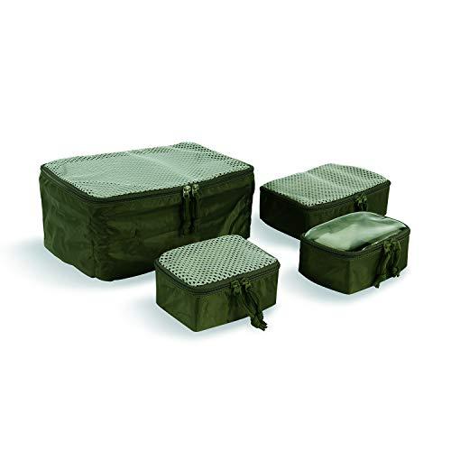Tasmanian Tiger TT Modular Pouch Set Organizer Rucksack Zusatz-Taschen Set in 3 Größen mit Klett-Rückseite, Oliv